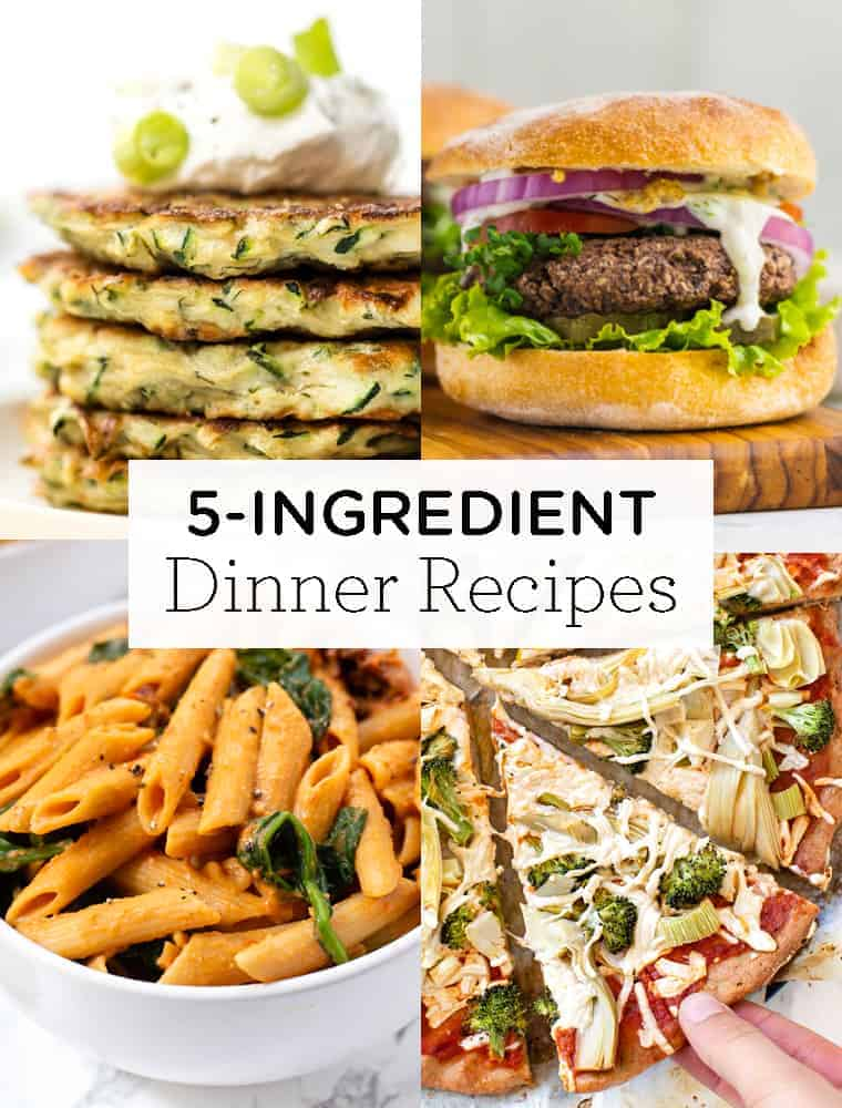 Healthy 5-Ingredient Dinner Recipes