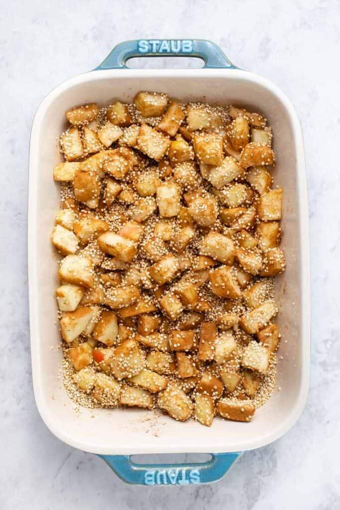 Quinoa Breakfast Bake Ingredients