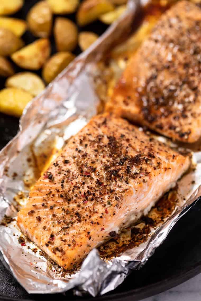 Pepper Salmon Recipe