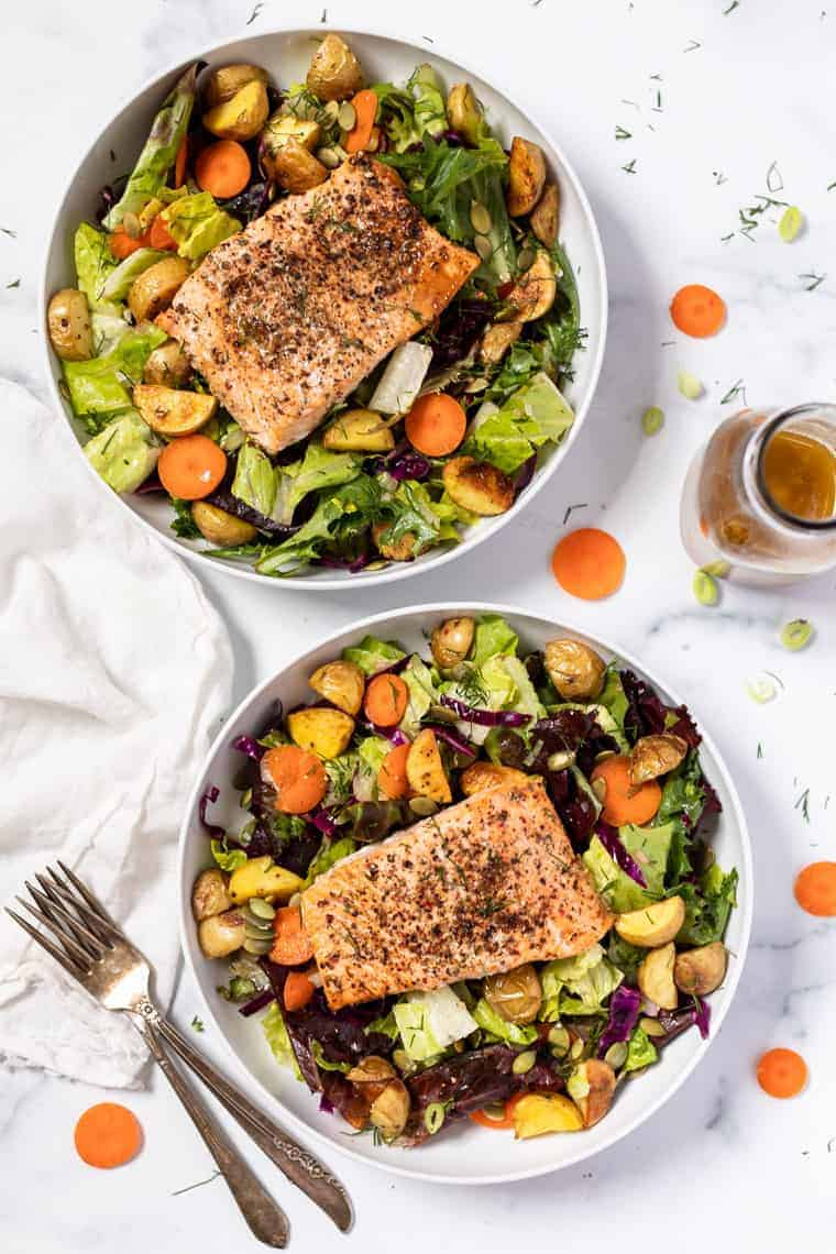 The Best Healthy Salmon Salad