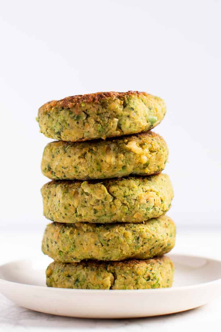 Vegan Broccoli Quinoa Burgers Recipe