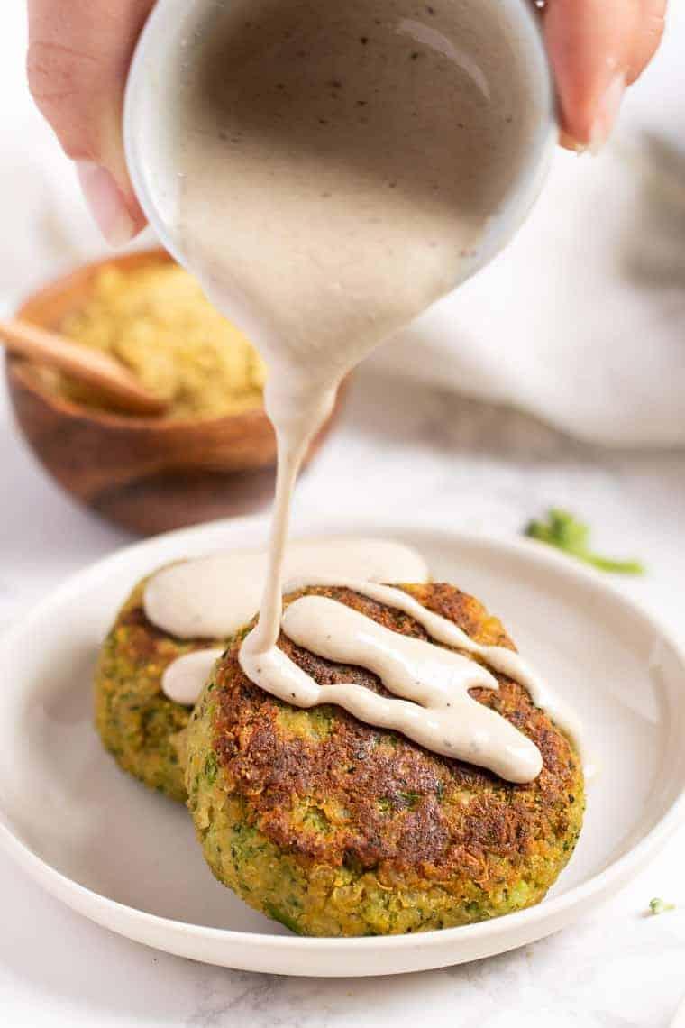 Healthy Vegan Quinoa Burgers