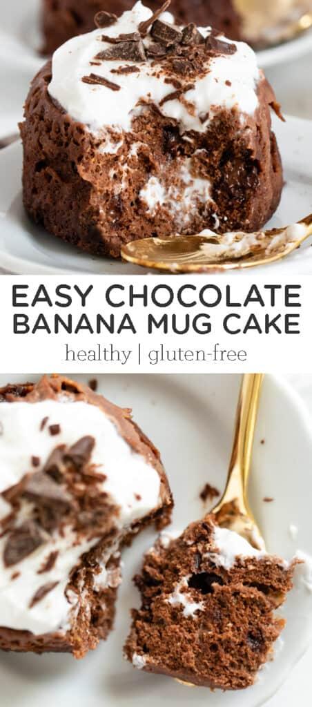 Easy Chocolate Banana Mug Cake