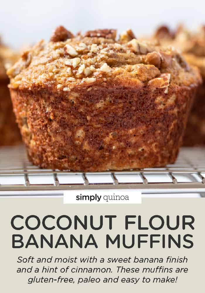 Coconut Flour Banana Muffins