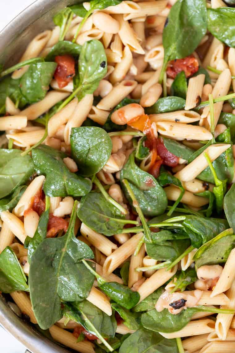 Vegan Pasta Recipe with Veggies