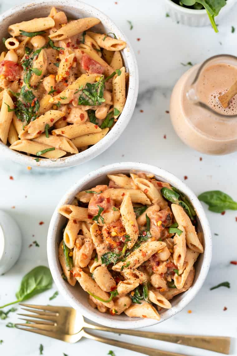 Creamy Tuscan Pasta Recipe