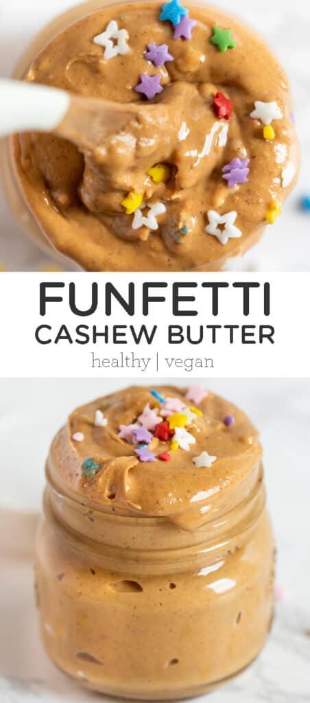 Funfetti Cashew Butter