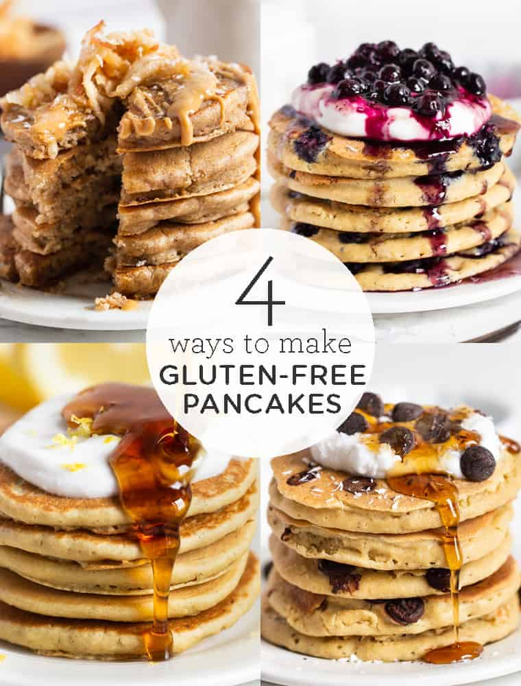 4 Ways to Make Gluten-Free Pancakes