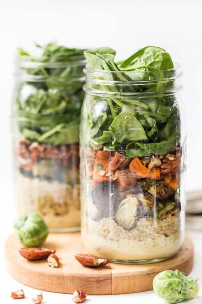 Harvest Mason Jar Quinoa Salad Recipe