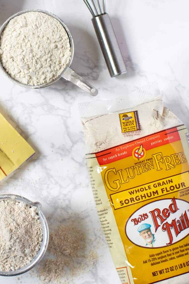 Ingredients for Gluten-Free Crumble
