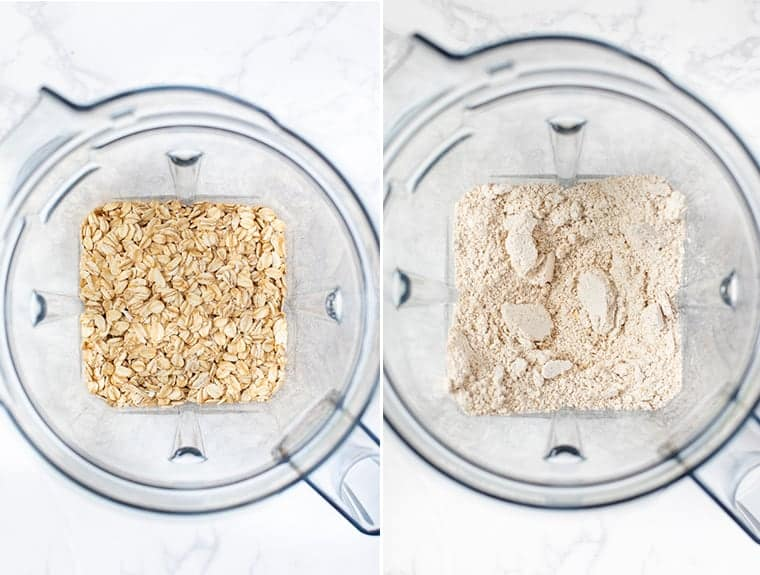 How to Make Oat Flour in a Blender