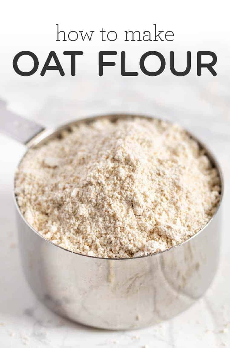 How to Make Oat Flour