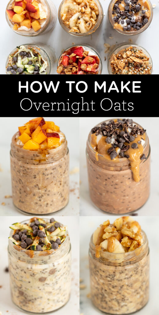 6 Ways to Make Overnight Oats