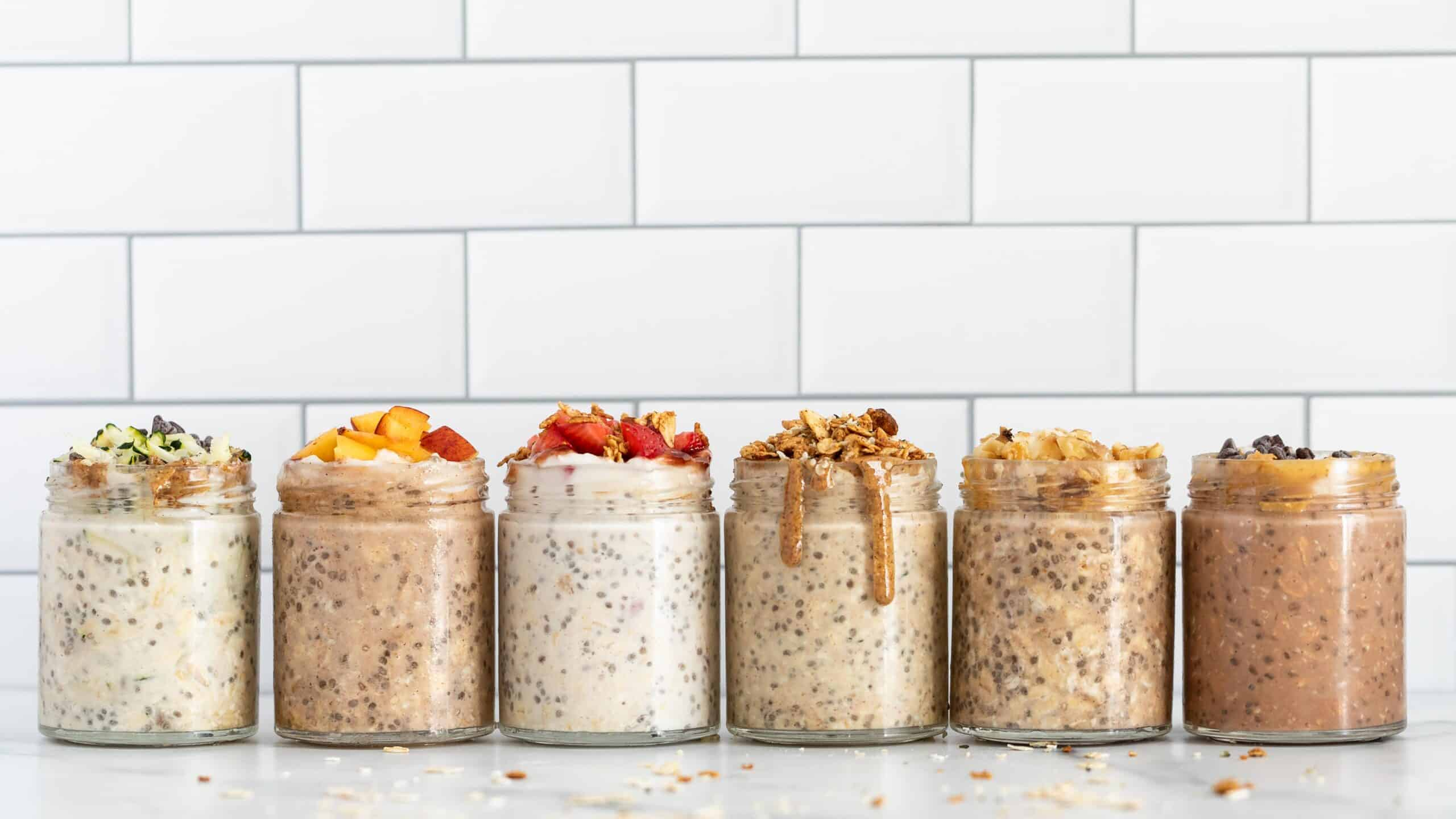6 Recipes for Overnight Oats