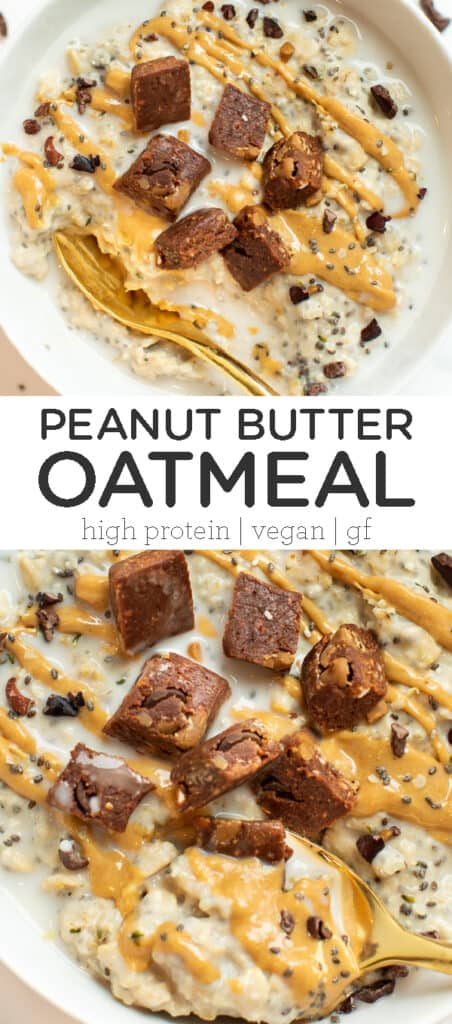 High-Protein Peanut Butter Oatmeal