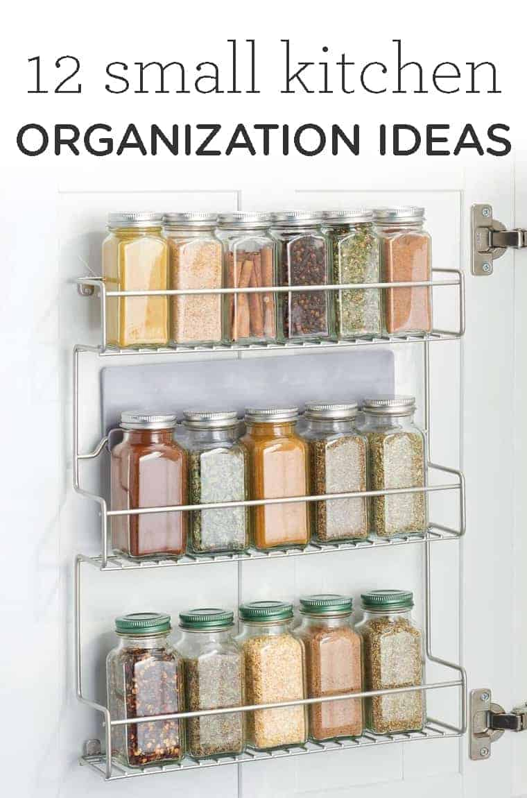 12 Small Kitchen Organization Ideas Simply Quinoa