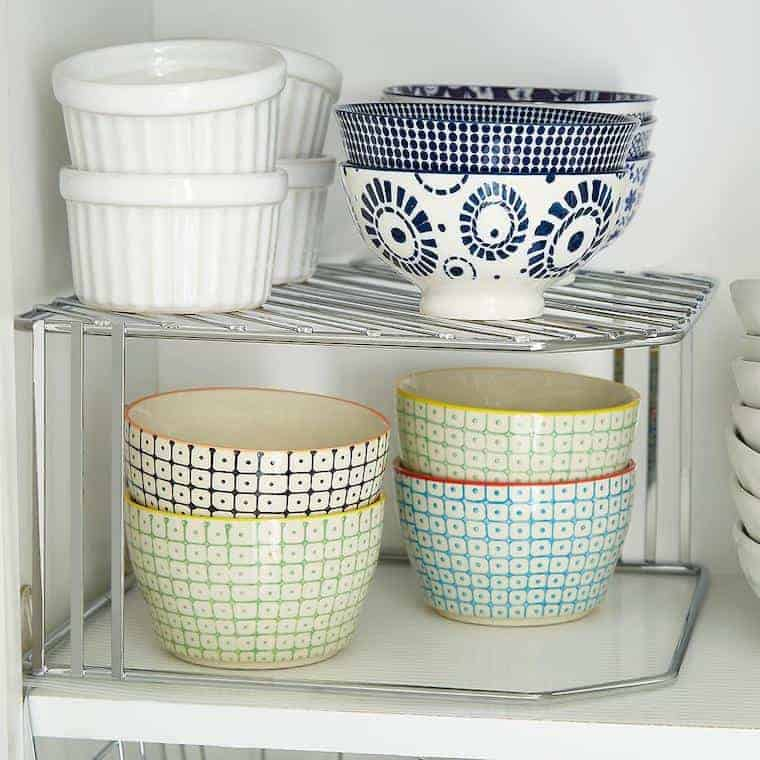Shelf Risers for Small Kitchens