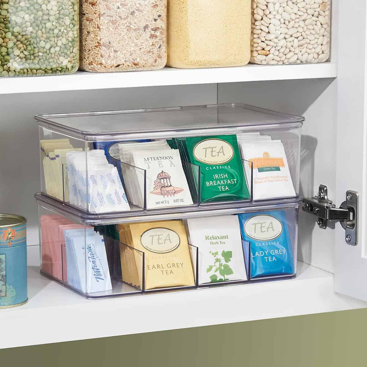 Tea Holder – Small Kitchen Organization Ideas