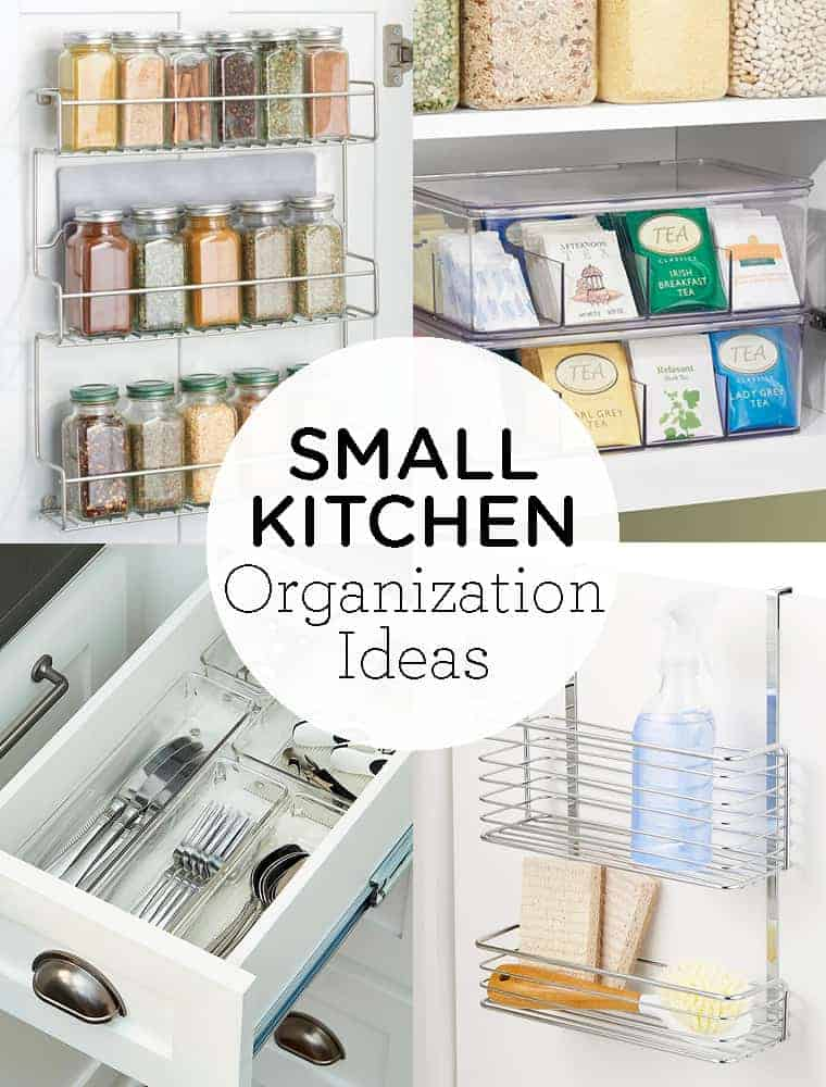 Small Kitchen Organization Ideas