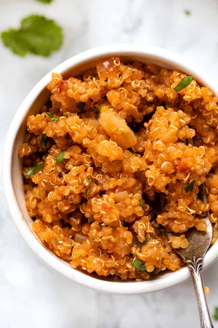 Easy Mexican Quinoa Recipe