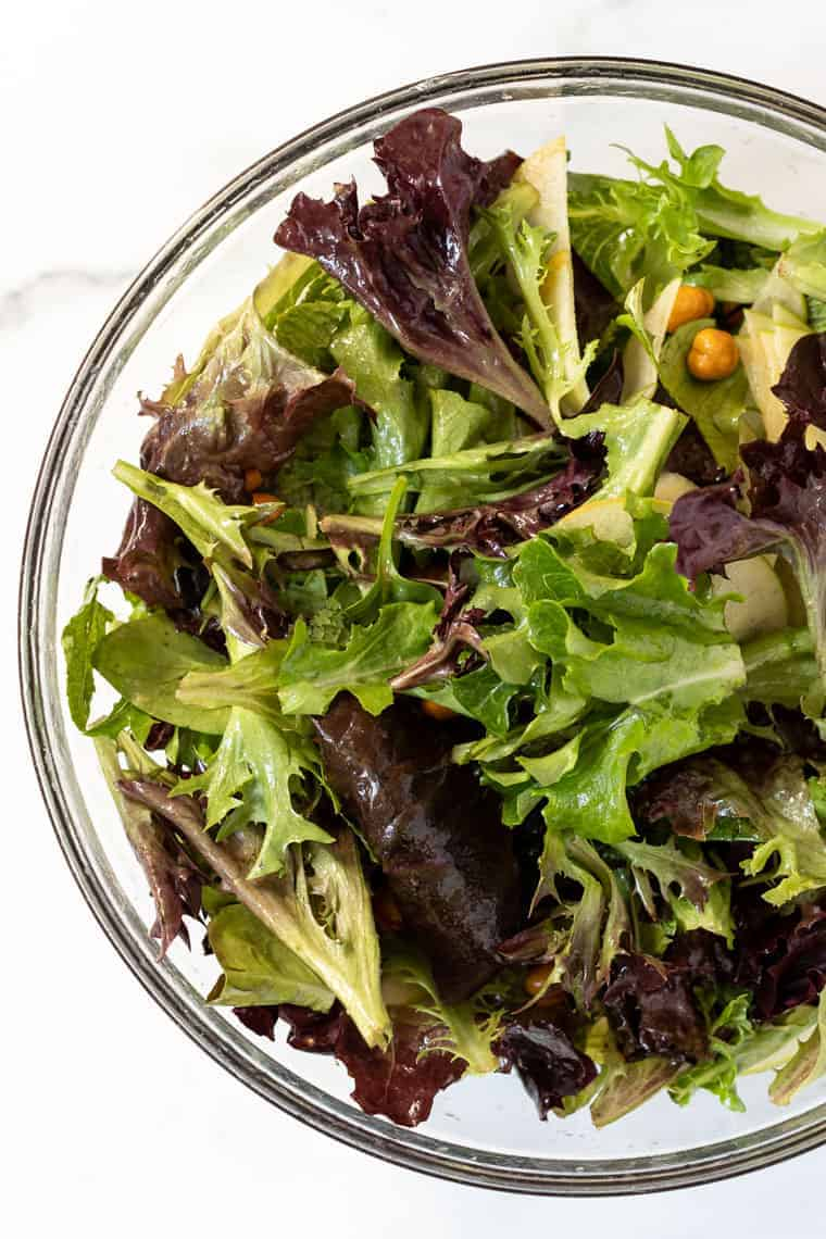 Healthy Spring Mix Salad Recipe