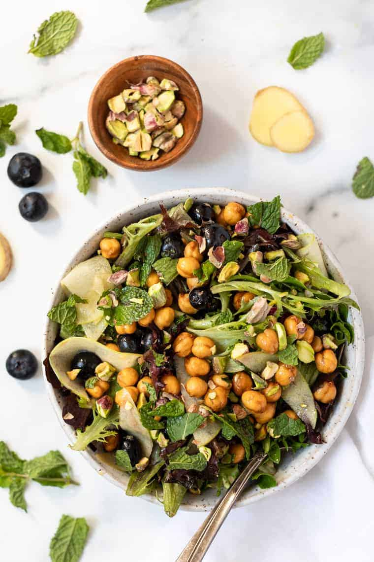 Summery Spring Mix Salad Recipe