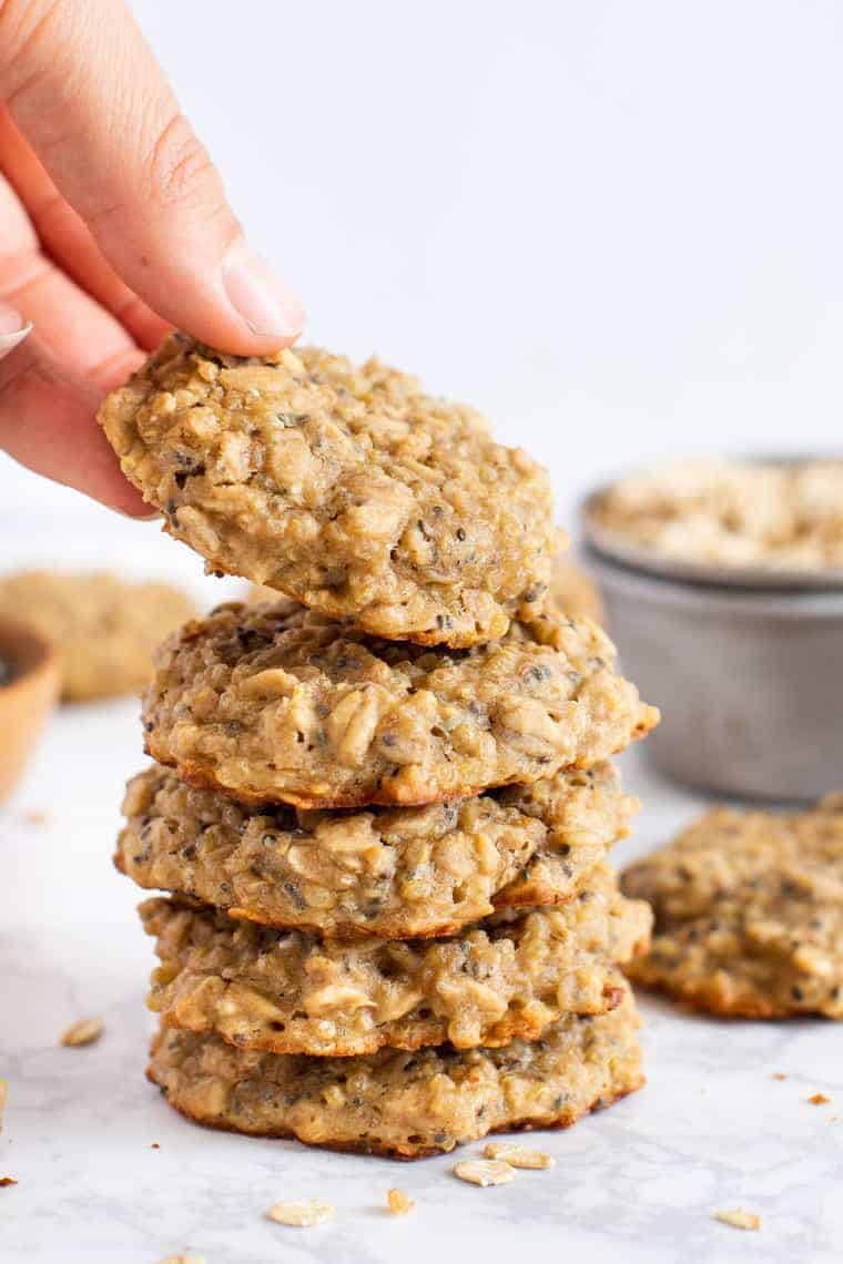 6 amazing recipes for healthy breakfast cookies