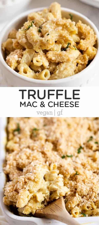 Vegan Truffle Mac and Cheese