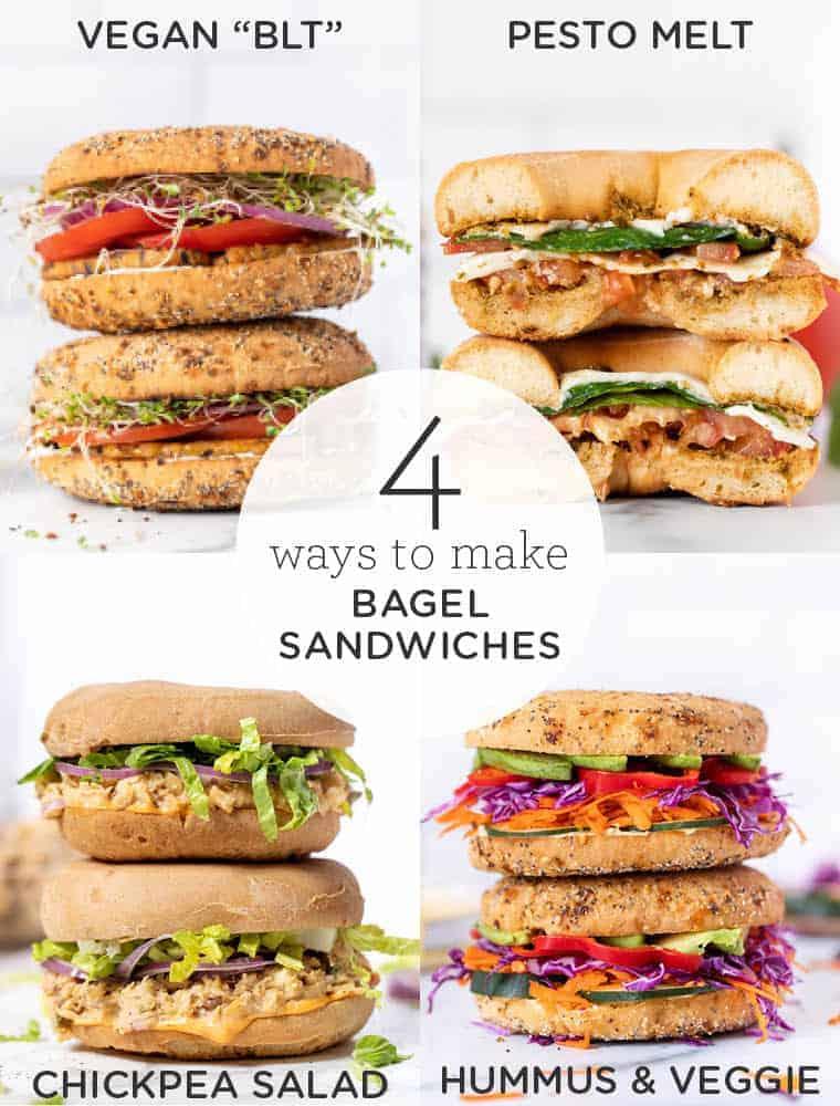 Bagel Sandwich Ideas for lunch