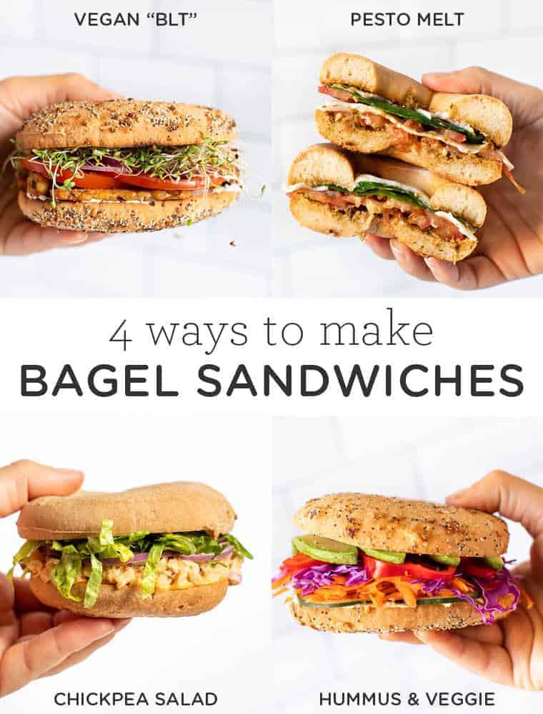 4 Bagel Sandwich Ideas to Try
