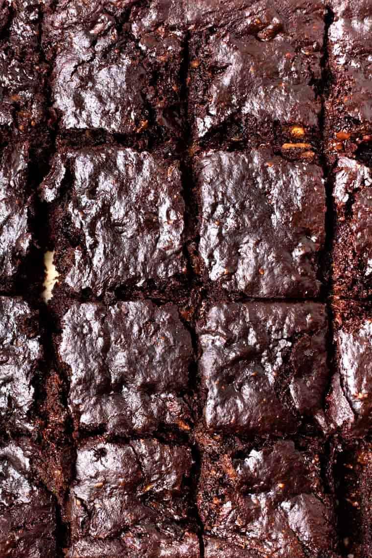 Healthy Flourless Protein Brownies
