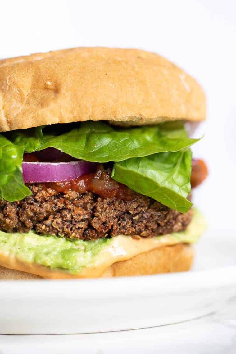 Vegetarian Black Bean Quinoa Burgers Recipe
