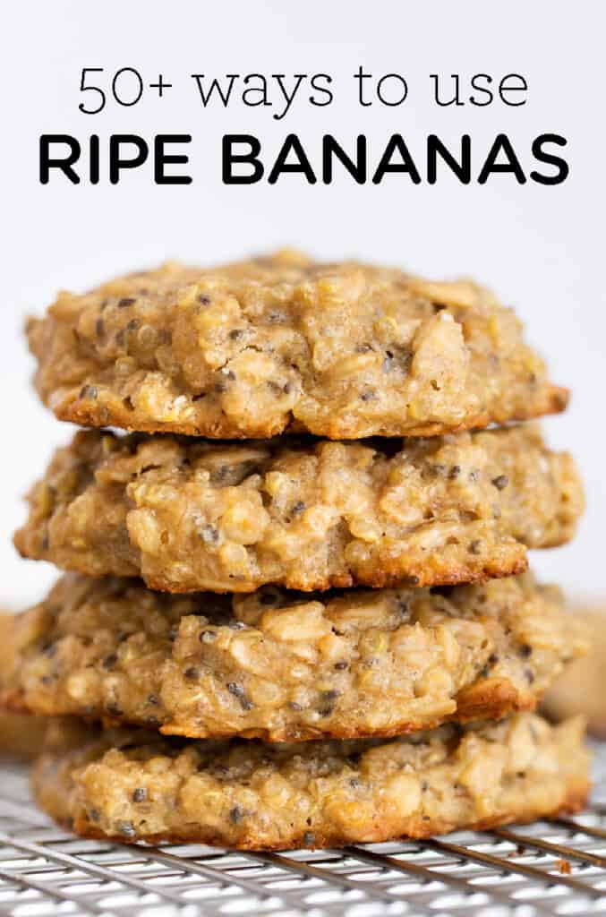 50+ Ways to Use Ripe Bananas