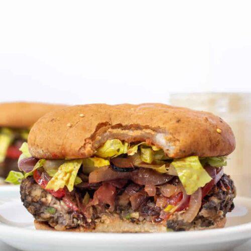 Best Mushroom Veggie Burger Recipe