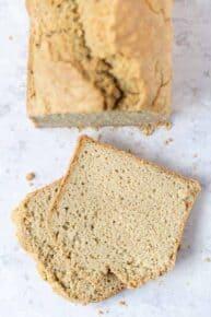 Gluten-Free Yeast-Free Quinoa Bread