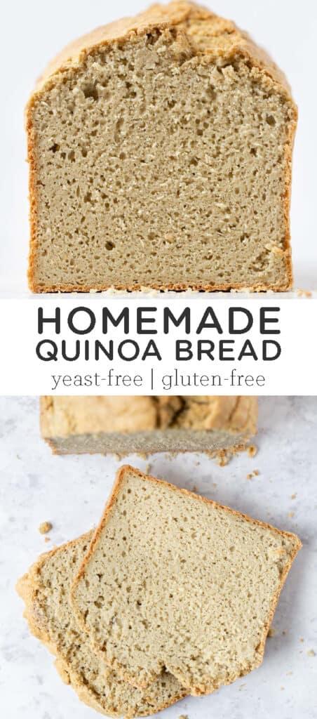 Yeast-Free Gluten-Free Quinoa Bread