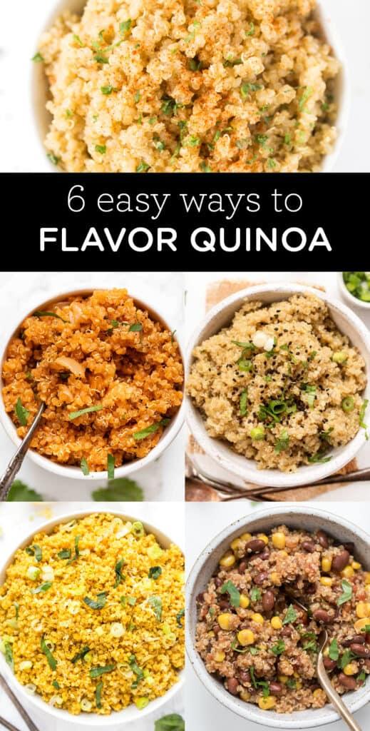 How to Flavor Quinoa: 6 Ways
