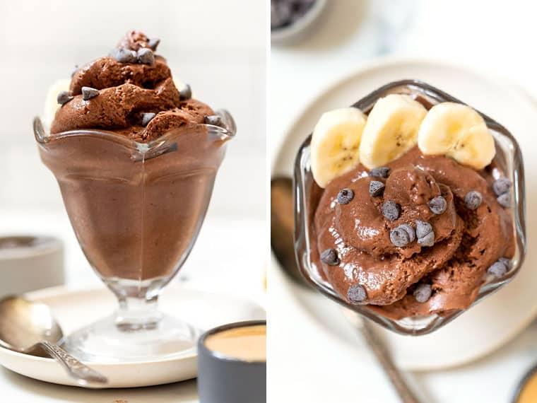 Chocolate Soft Serve Ice Cream