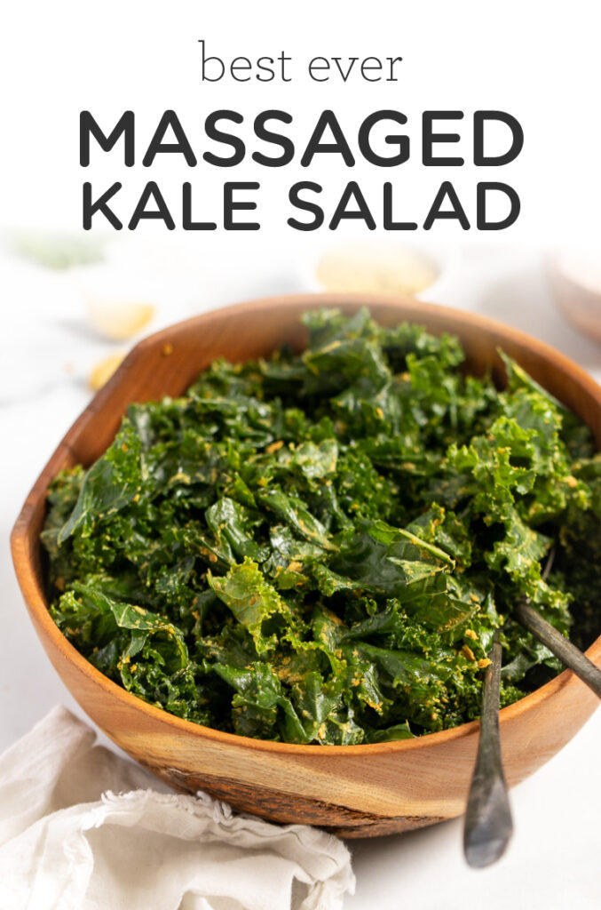 Best Ever Massaged Kale Salad