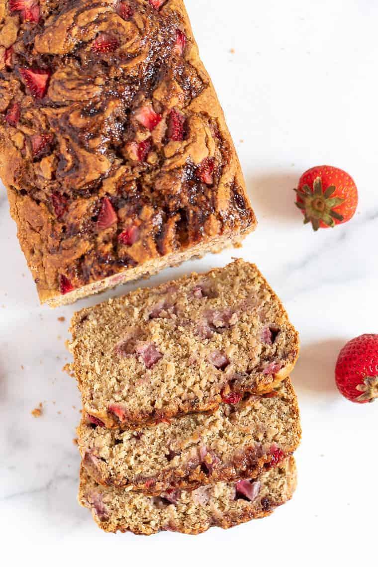 Recipe for Strawberry Banana Bread