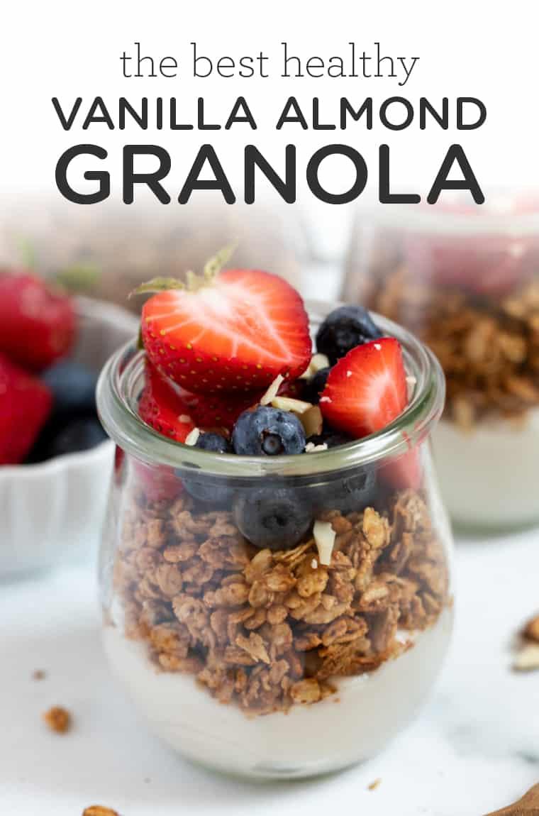 Best Ever Vanilla Almond Granola