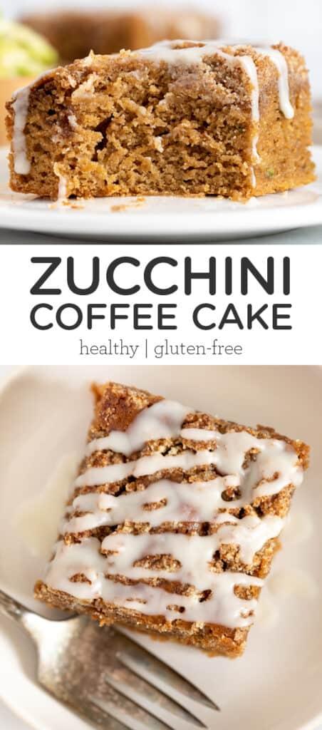 Gluten-Free Zucchini Coffee Cake