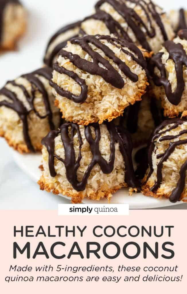 Healthy Coconut Quinoa Macaroons