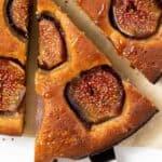 Slice of Fig Cake