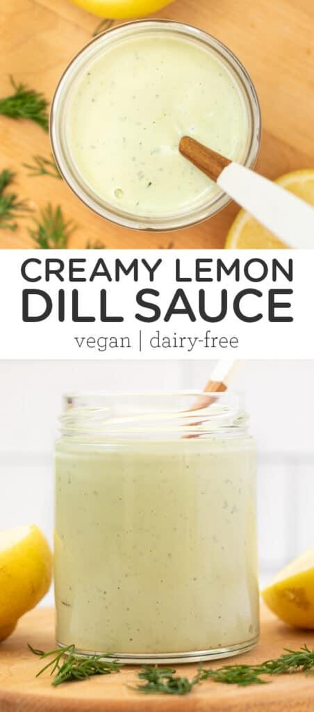 Creamy Lemon Dill Sauce