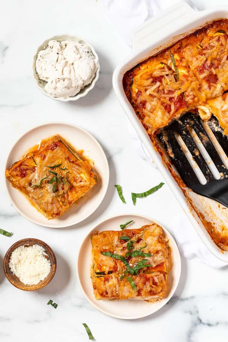 Recipe for Vegan Zucchini Lasagna
