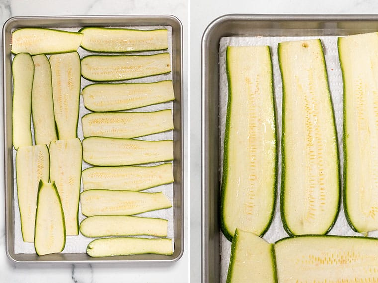 How to make Zucchini Lasagna Not Watery