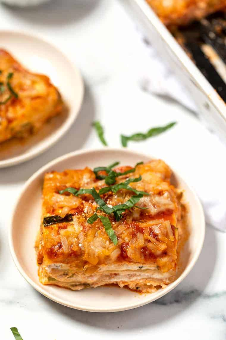 Vegan & Low Carb Zucchini Lasagna Recipe