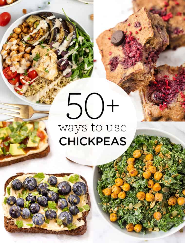 50+ Ways to Use Chickpeas