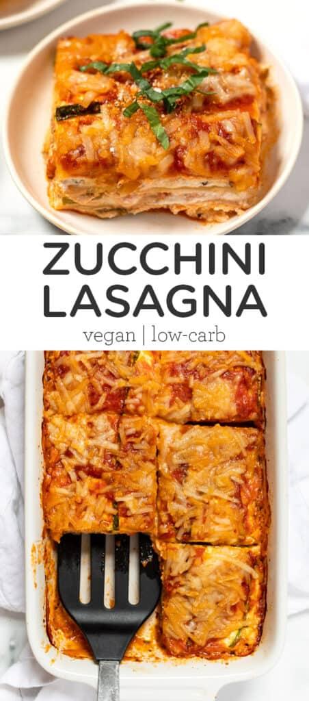 Vegan Zucchini Lasagna